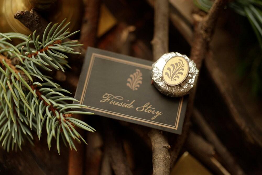 Fireside Story - REFILL for natural solid perfume - ForStrangeWomen