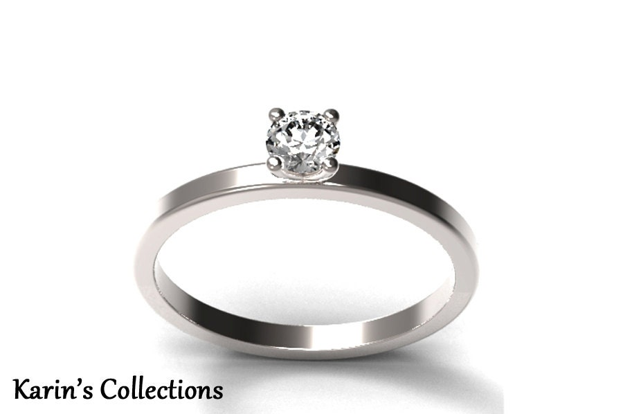 popular items for simple promise ring on etsy