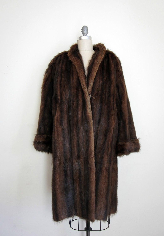 40's kakas furs mink coat long from edward kakas and sons 93 newburry street boston women's