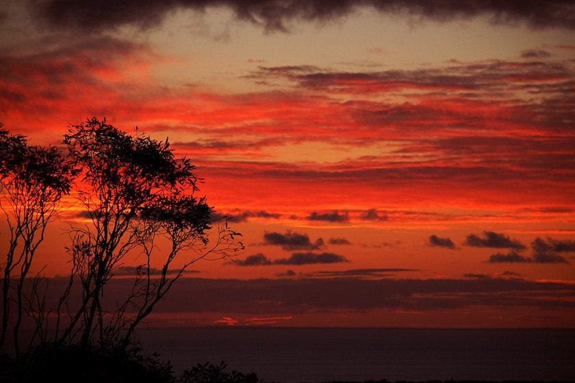 Australian Landscape Photographic Print, Sunset, Australiana, Adelaide, Fine Art Photography 8 x 10 print - Colourscape
