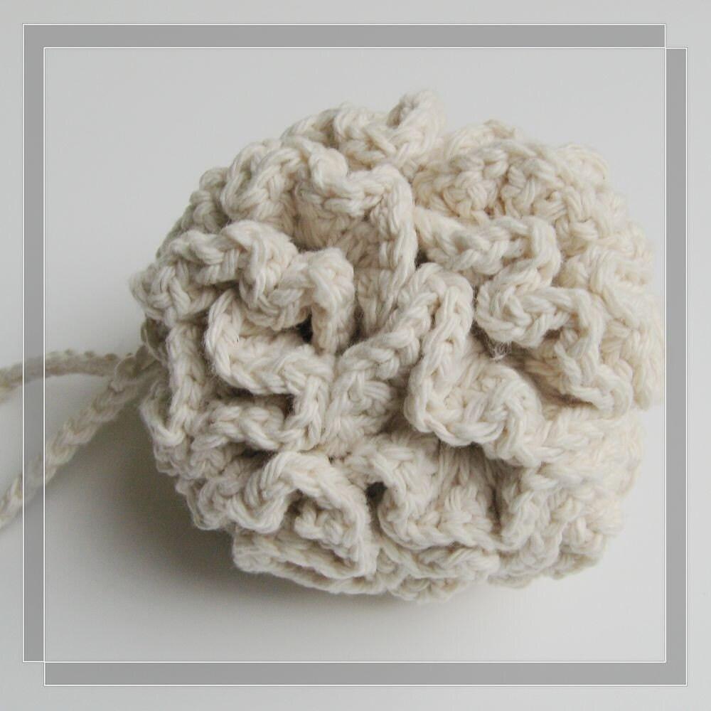 Free Crochet Pattern Bath Pouf : Pattern crochet cotton bath/shower puff Free by LilyKnitting