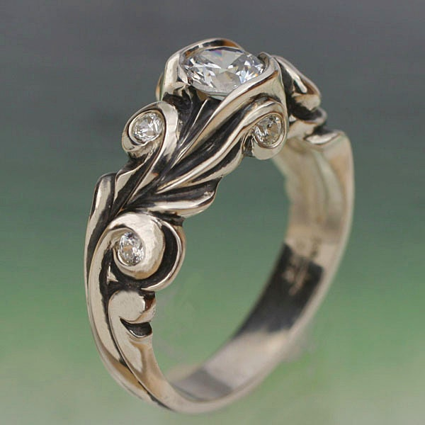 Etsy Ring Lust Floral