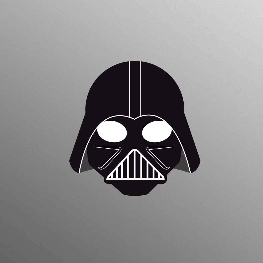 Darth Vader Style Decal Laptop Sticker for Apple MacBook  Pro  Air