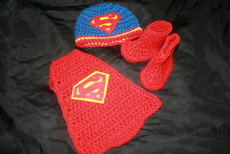 Popular items for superman crochet on Etsy