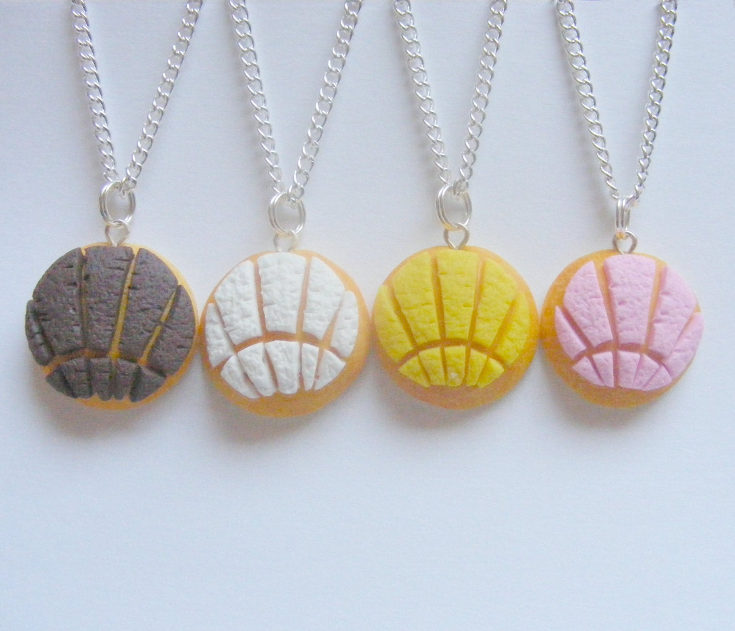 Food Jewelry Pan Dulce Conchas Dulce Concha Miniature Food Mini Food Concha Jewelry Food Jewellery Mexican Food Polymer Clay Food