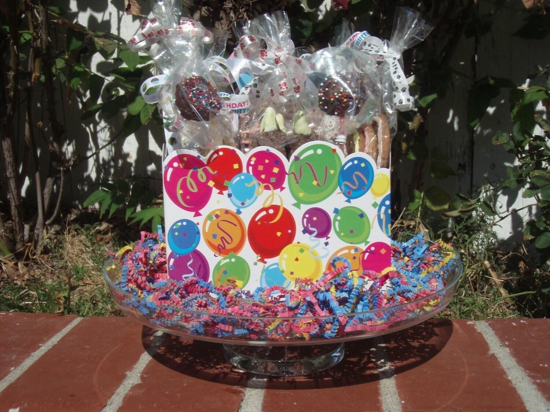 Etsy Dog Gift Baskets : Gourmet dog treats birthday bash gift by shortysgourmettreats