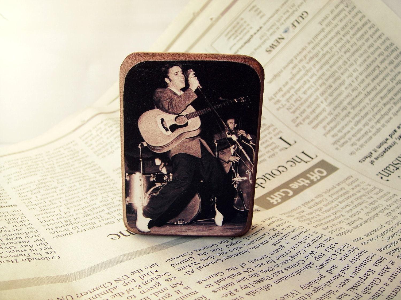 Elvis Presley - Магнит на холодильник - подарок для вентилятора Бесплатная доставка по всему миру