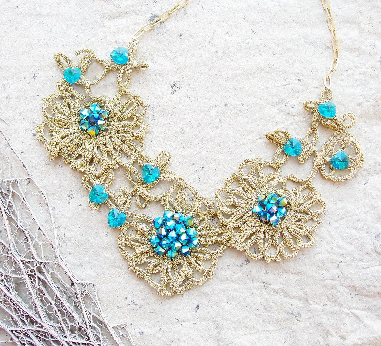Irish Filigree Crochet Necklace Free Pattern : Unavailable Listing on Etsy