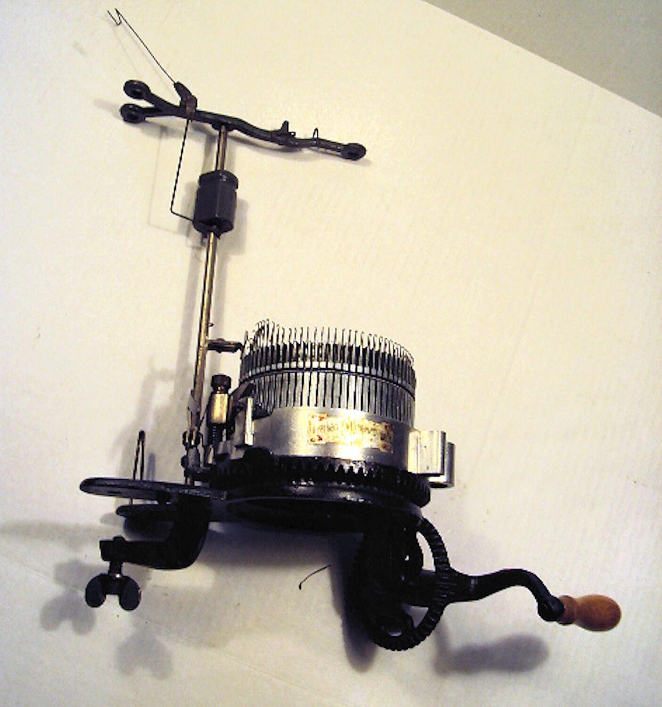 1925 Gerhart Circular Sock Knitting Machine By Nmarieo On Etsy