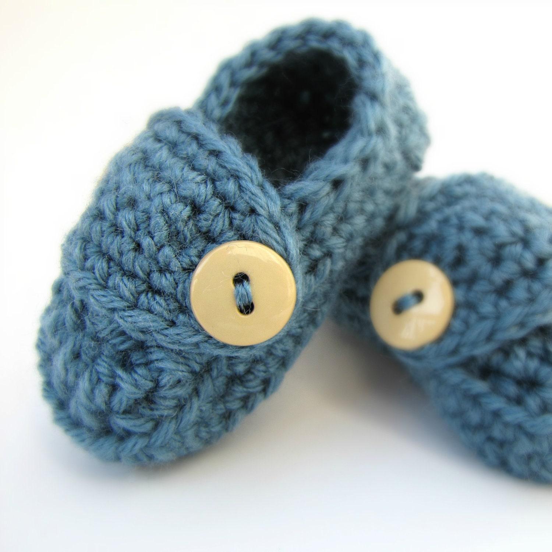 Boys Baby Booties NEWBORN BABY SHOWER gift by ...