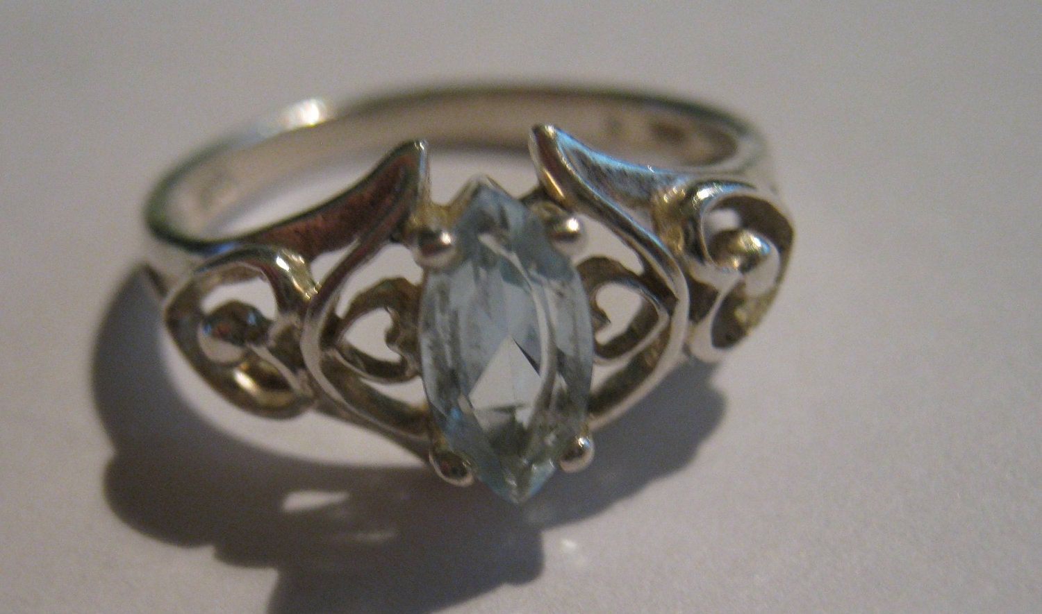 Vintage Avon Sterling Silver Ring With By Toogavintagesilver