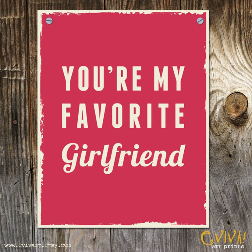 if you re my girlfriend