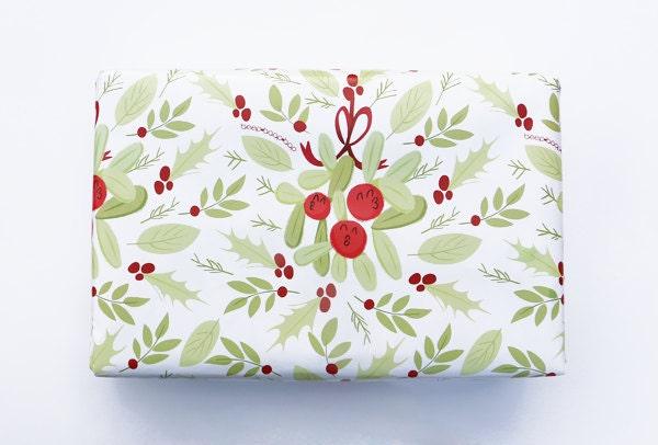 Cadeau papier GUI Holly Kiss kissy Didones - jeu de 3 feuilles-