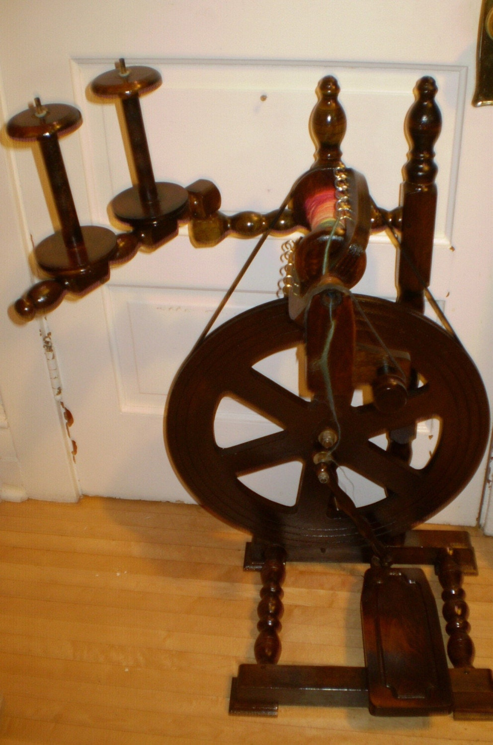 bea classic spinning wheel by katrinaswoolworld on etsy. Black Bedroom Furniture Sets. Home Design Ideas