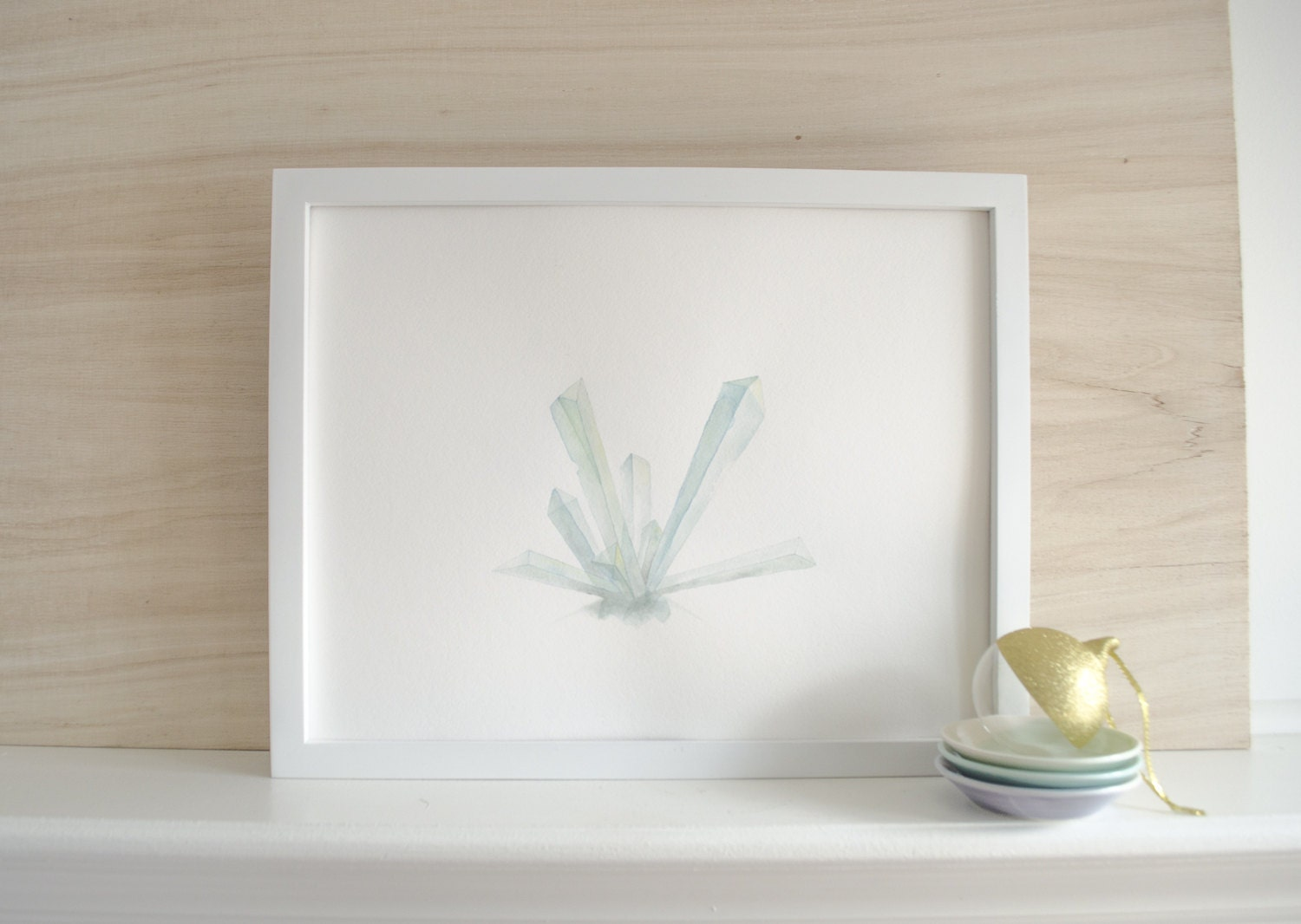 "Giclée print of original watercolor ""Sprout"" - BuenoMarket"