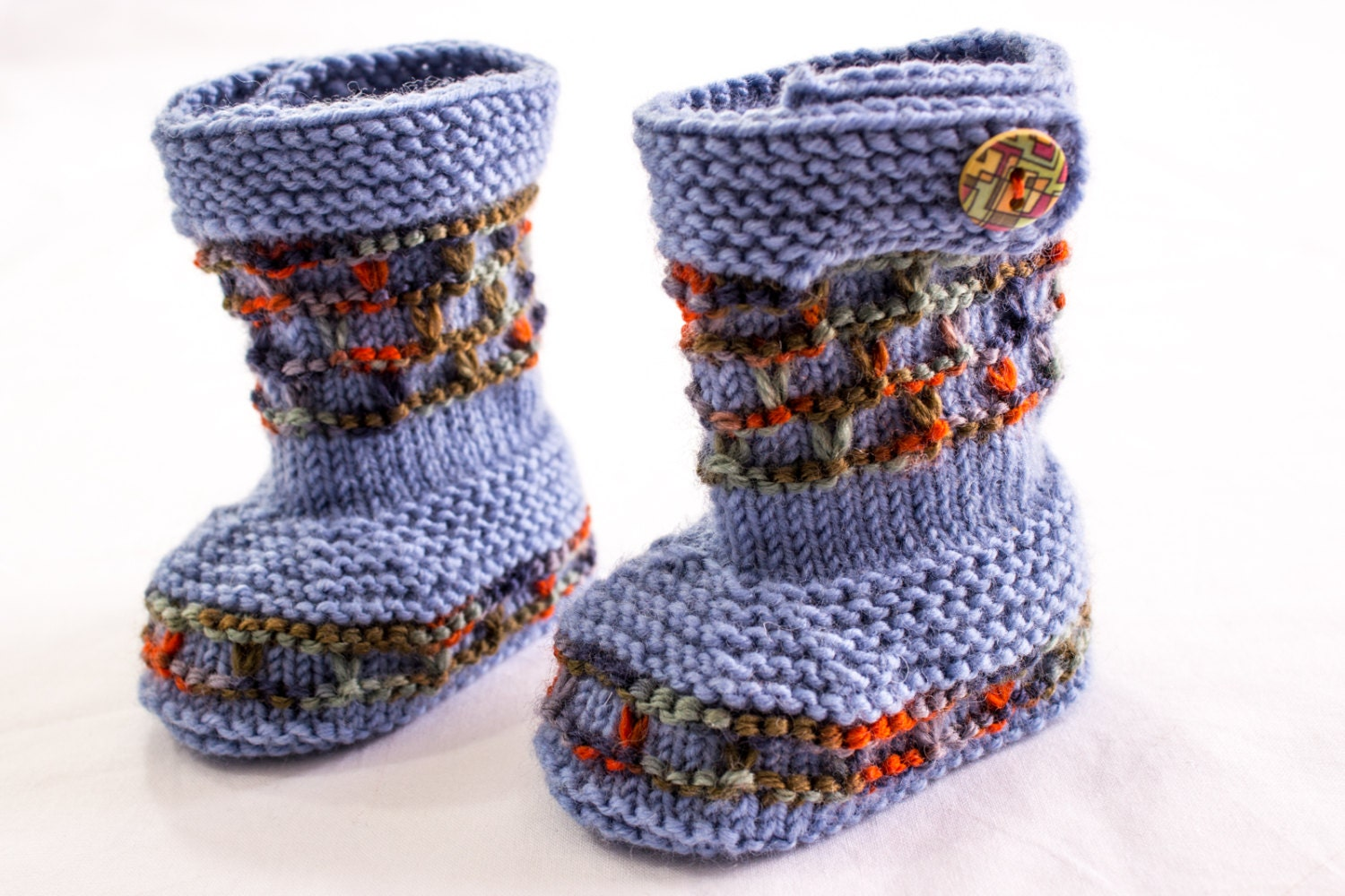 Hand Knitted Baby Ugg Boots Pattern