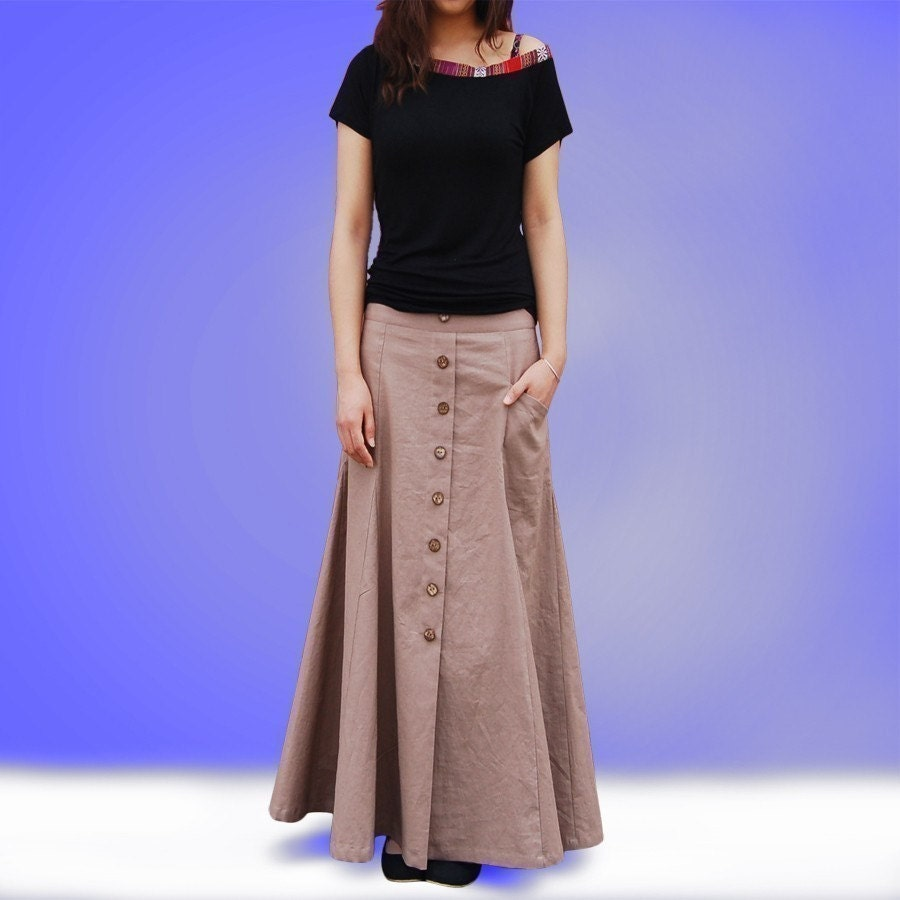 no 6 maxi skirt less is more lineq1019 by idea2lifestyle