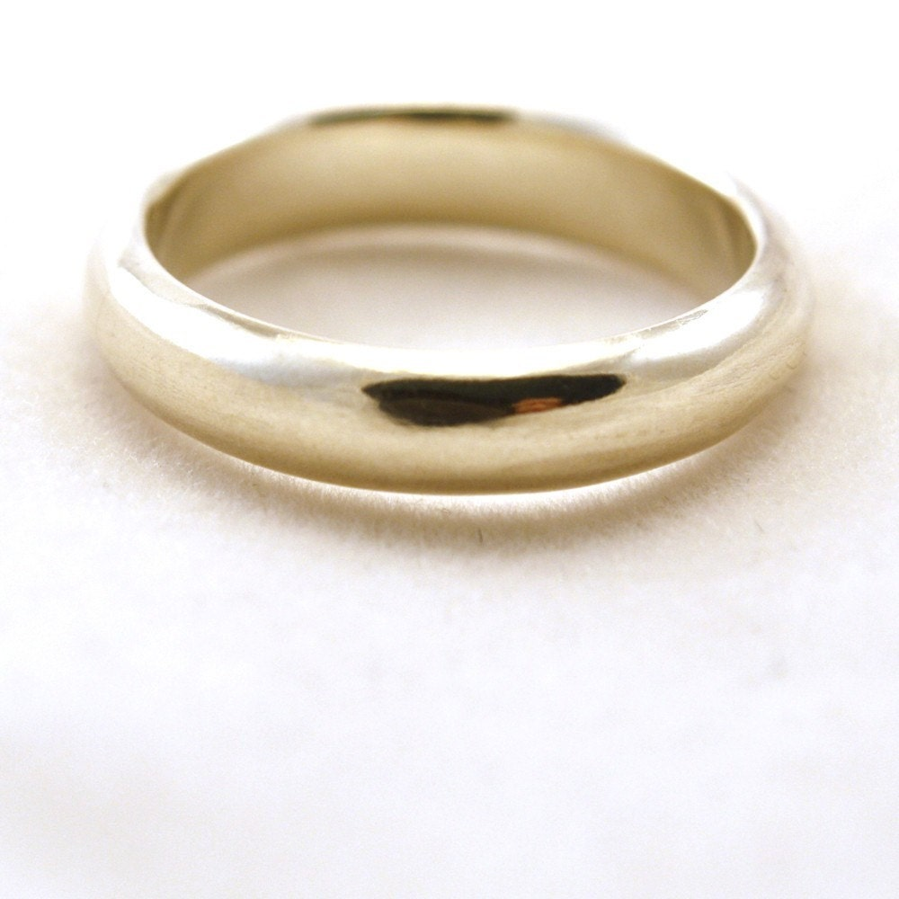 items similar to wedding band sterling silver simple ring