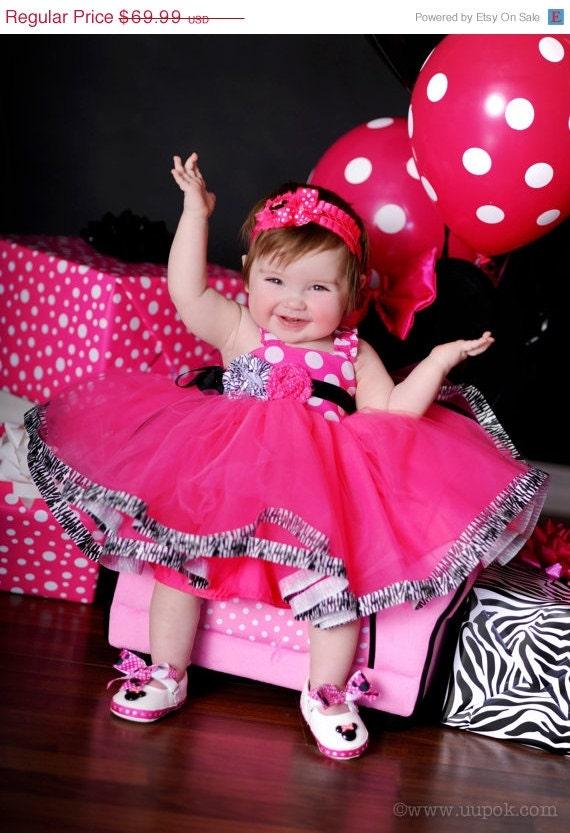 Vestido rosa de Minnie Mouse - Imagui