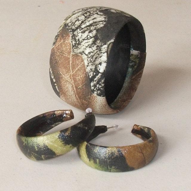 camo jewelry mossy oak camouflage bangle by