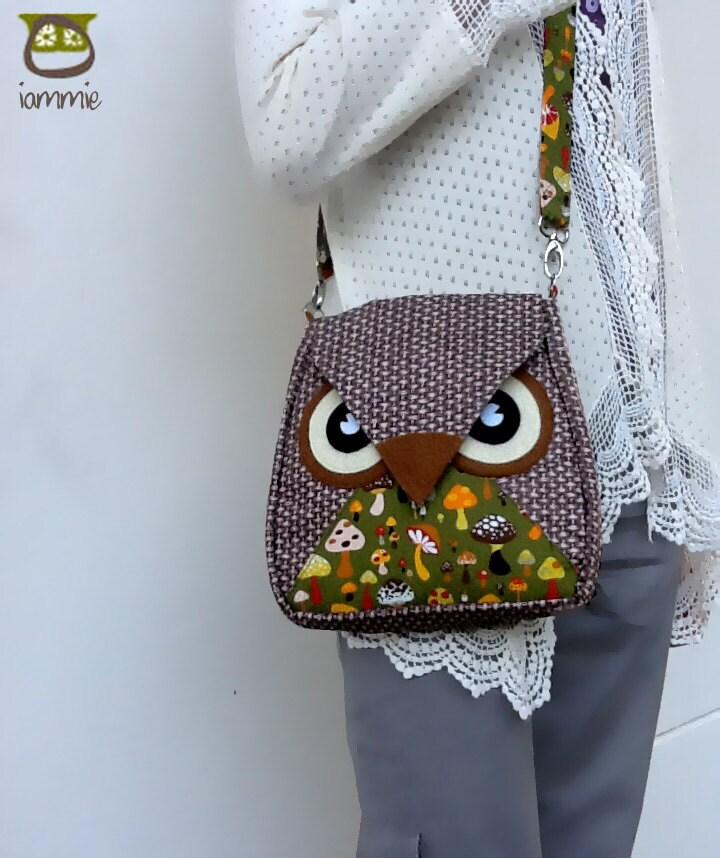 Owl Shoulder Bag Pattern 21