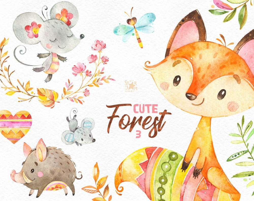 Its time for cute illustrations! Welcome to our world! by