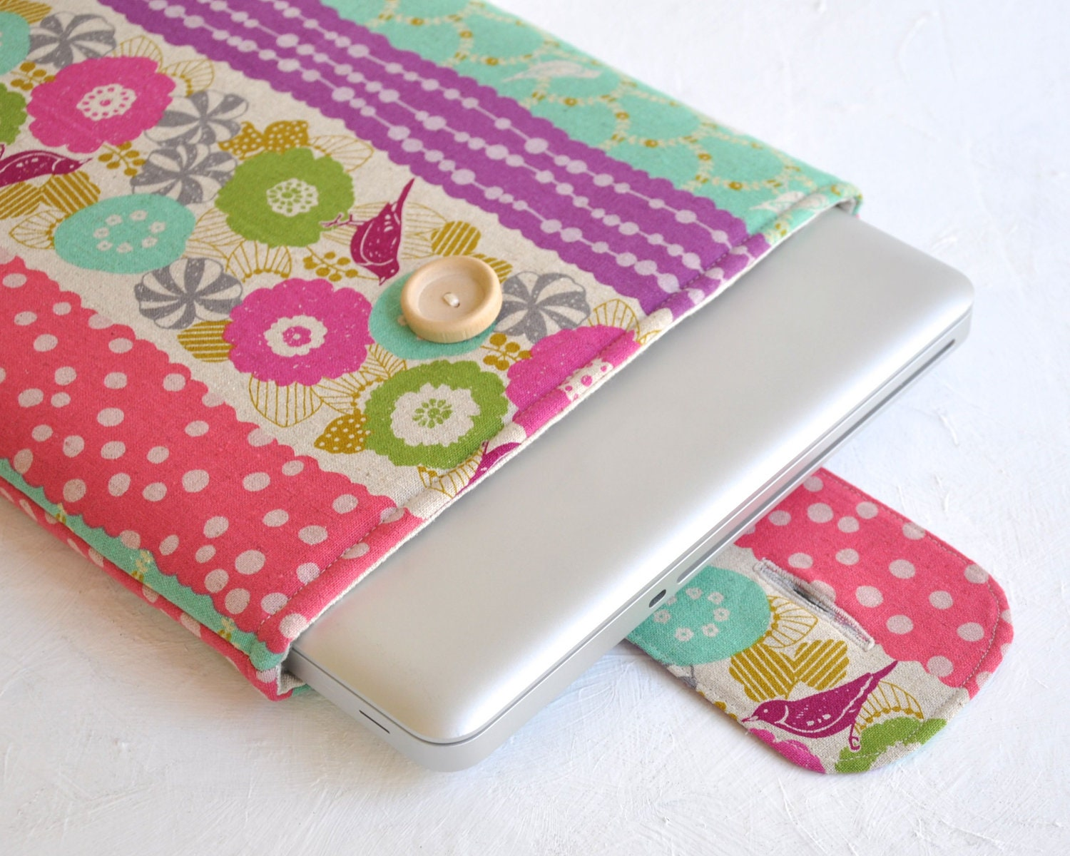 "Laptop Cover, MacBook Pro 13"" Cover, Apple Laptop Sleeve, Padded"