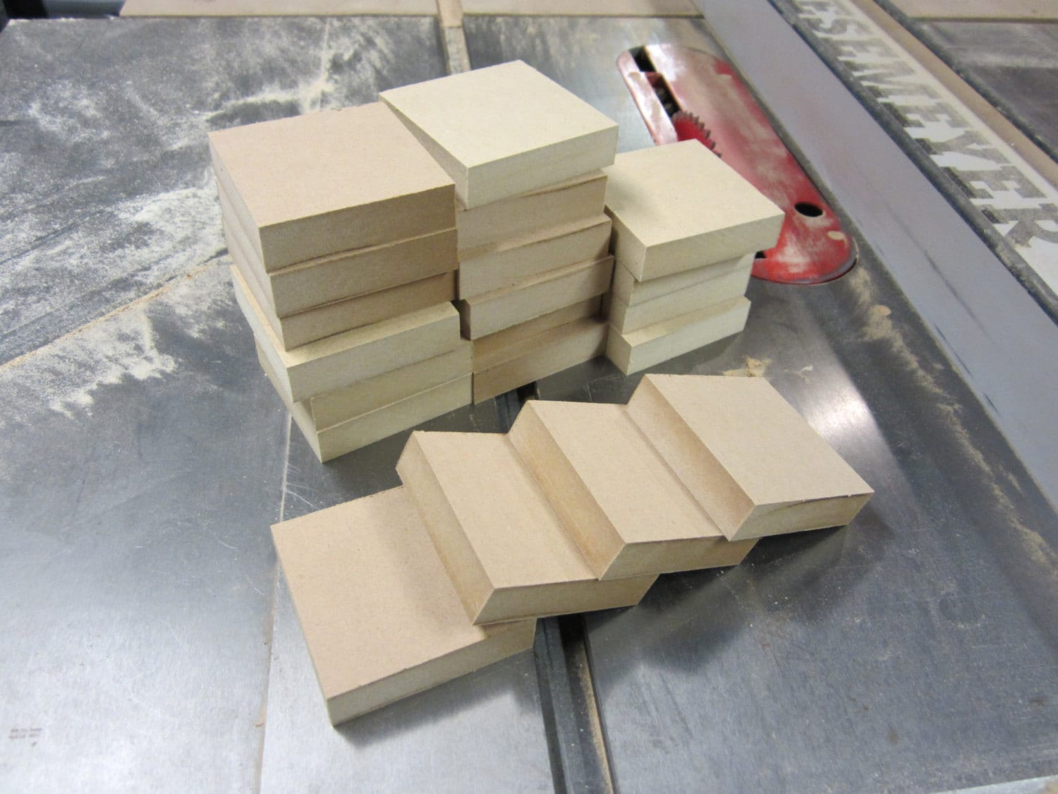 Unfinished wood mdf blocks squares craft by sheldonwoodworks for Unfinished wood pieces for crafts