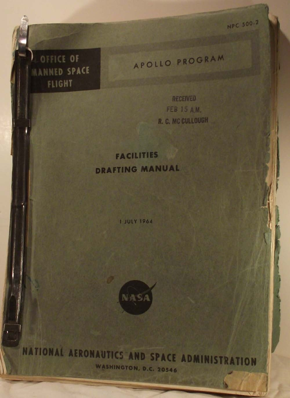 Apollo Program Facilities Drafting Manual 1964