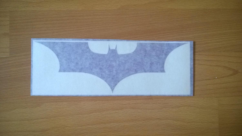 SALE DECALS  Batman Bat Logo  Wall Art  Decal  Sticker  7cm x 20.6cm  Purple  Only 8 Available Walls Laptops Doors Tablets