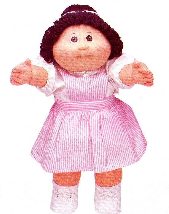 1980s cabbage patch clothes pattern see sew by