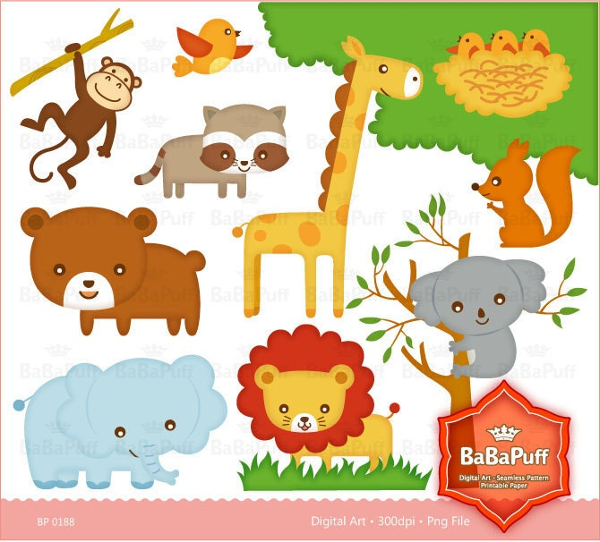 This is a picture of Amazing Printable Jungle Animals