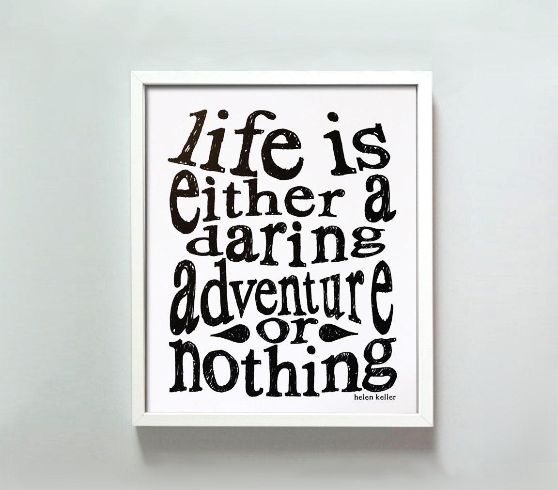 8x10 Daring Adventure print