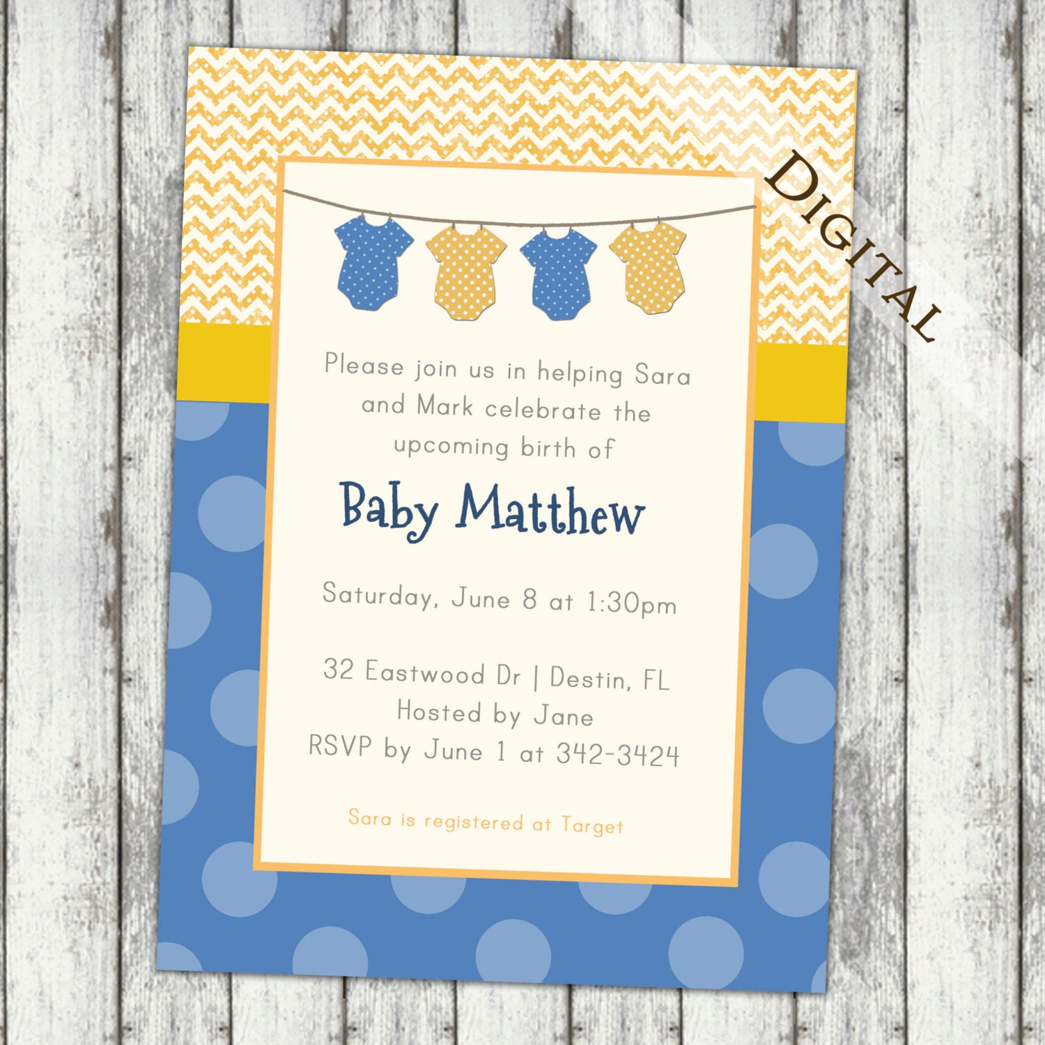 baby shower invitations gender neutral baby shower invite polkadots