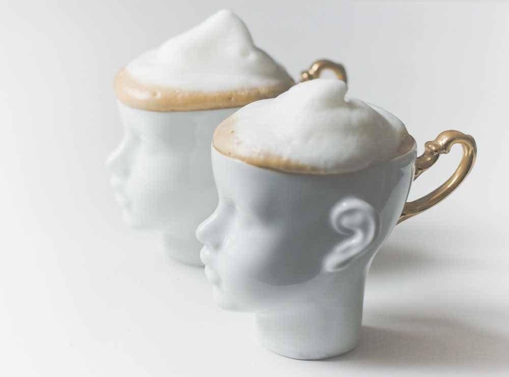 Porcelain Coffee Mugs Set Of Two Ceramic Mug By Endeceramics