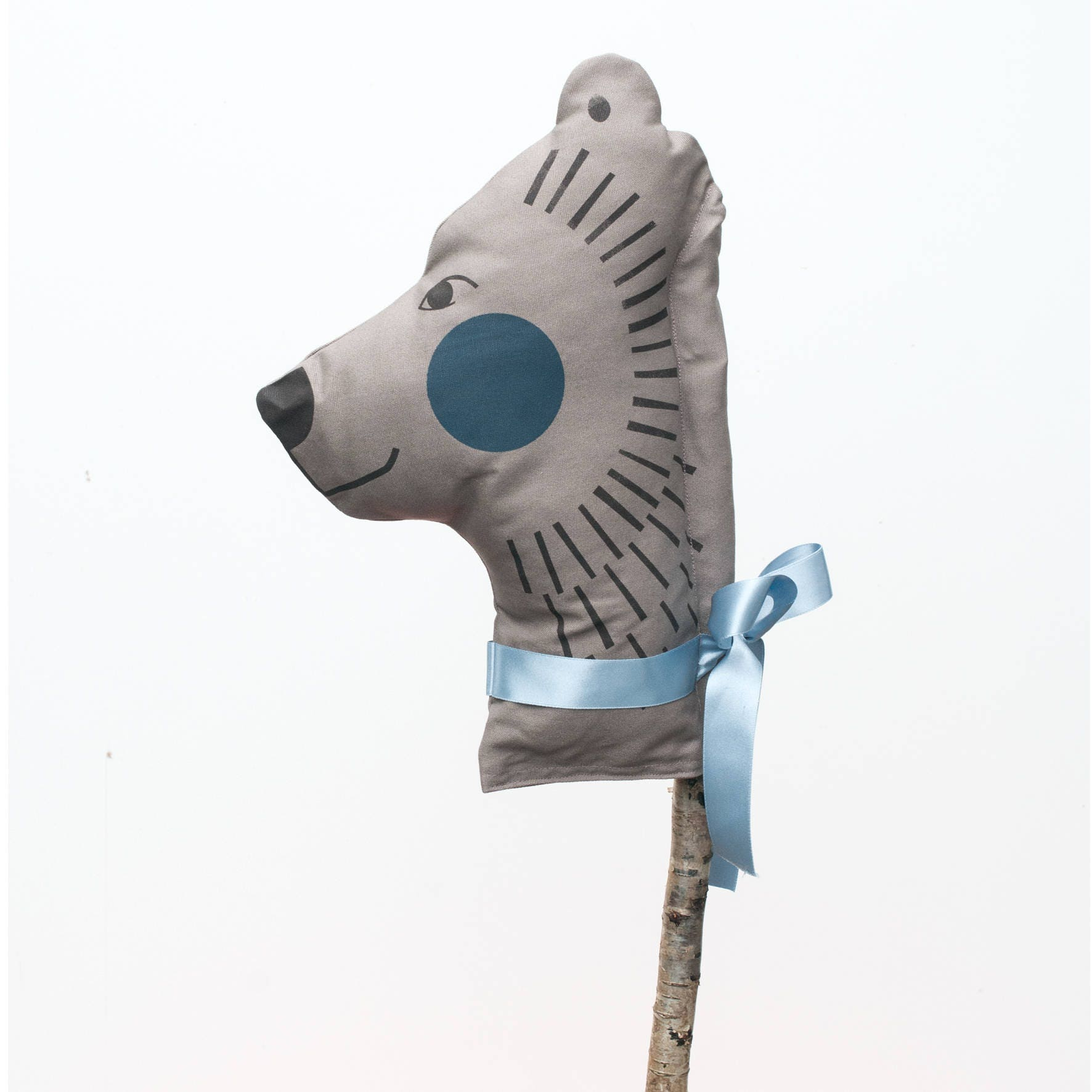 Brown Bear Hobby Horse Perfect for dressing up games