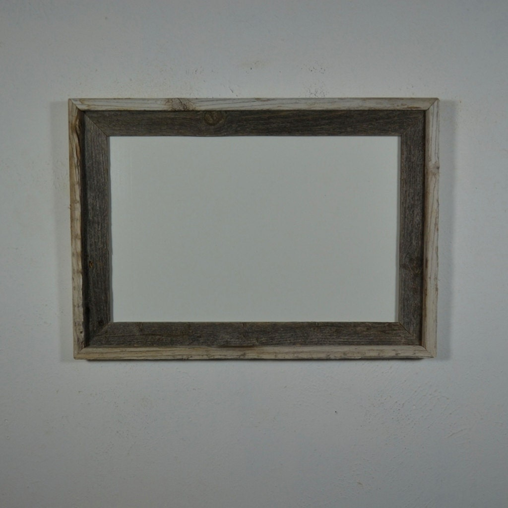 11x17 Wood Frame With Contrasting Natural Patina By Barnwood4u