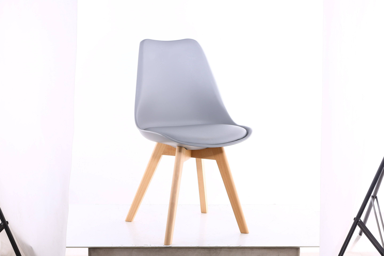 MOF Light Grey Tulip Chair Modern Living Room Dining Room Chair x2 x4