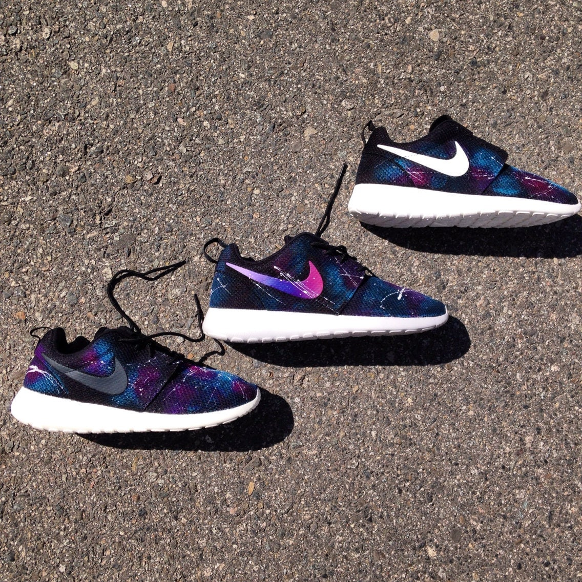 Nike roshe run galaxy women