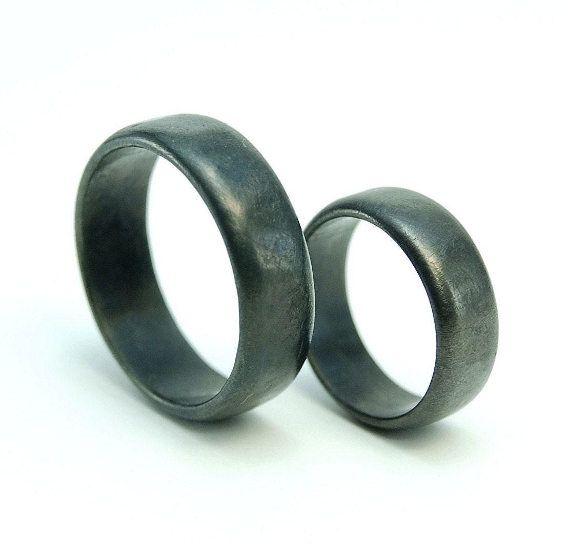 30 Nice Iron Wedding Rings Navokal