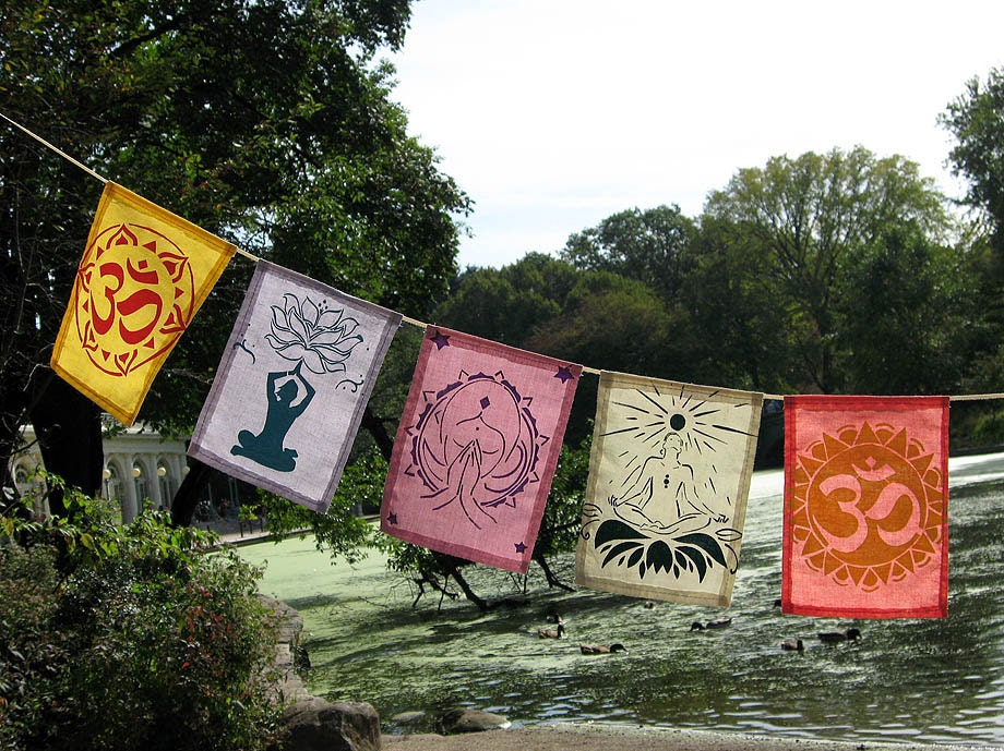 Yoga Meditational Prayer Flags