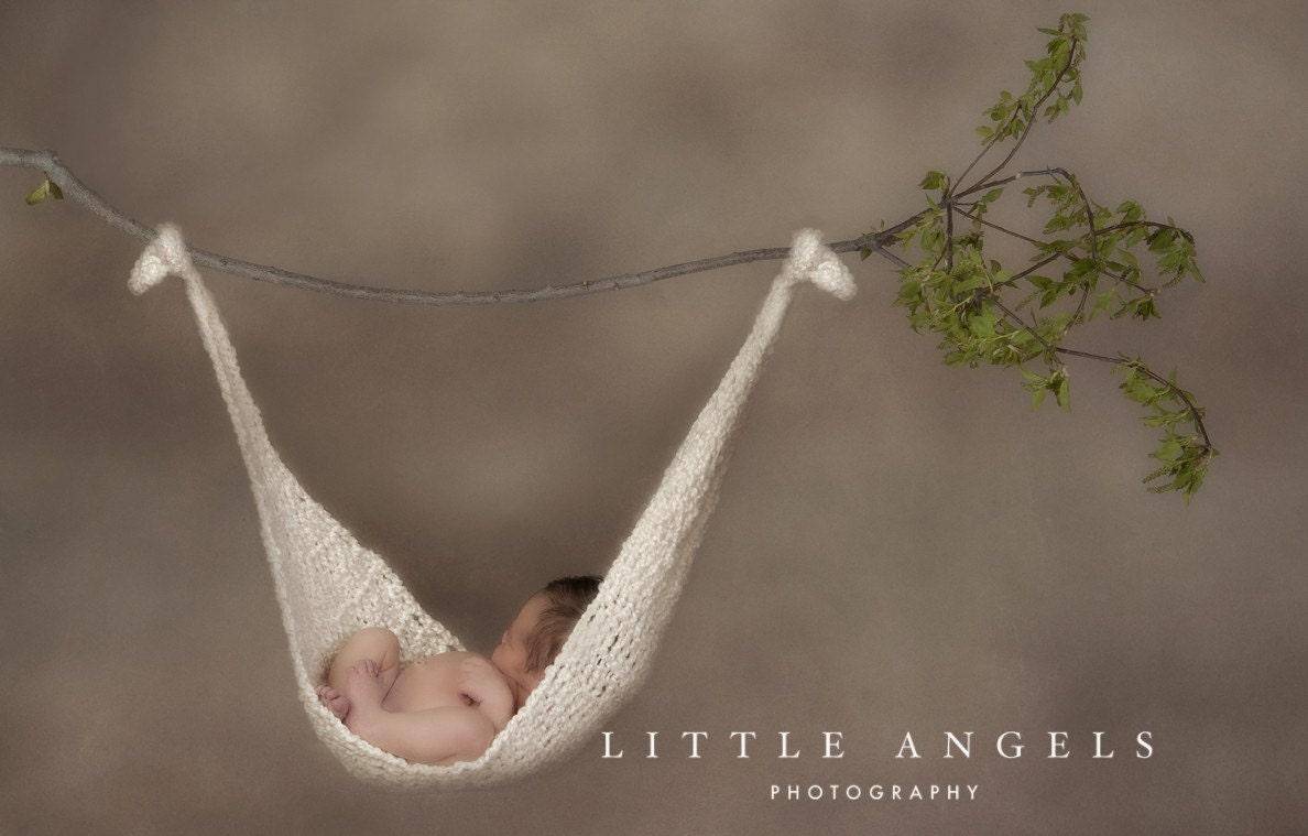 Baby Hammock Sling Crochet Pattern Newborn by SunsetCrochet