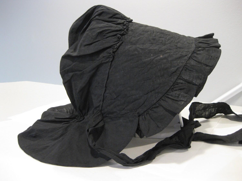 Antique Prairie Field Bonnet Women S Black By Mindfulresource