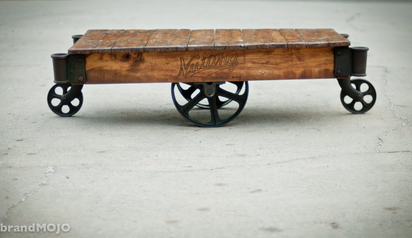 On sale through 11/5/11 Vintage Industrial by brandMOJOinteriors