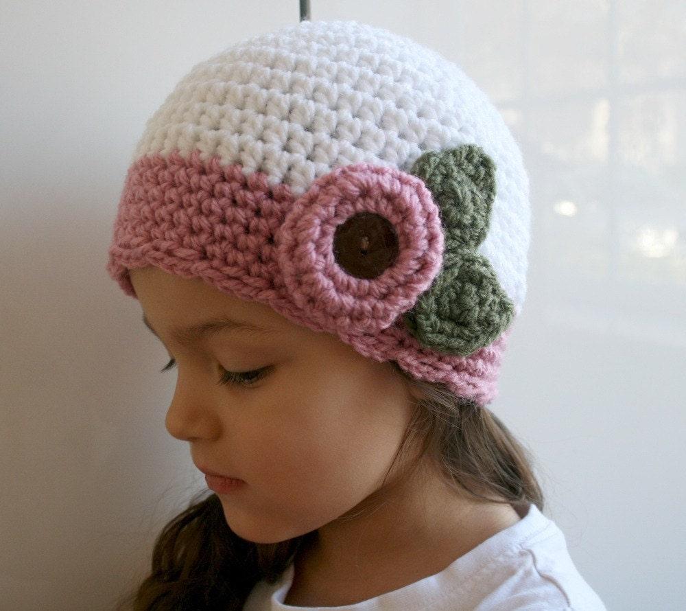 Crochet hat pattern vintage crochet baby hat by LuzPatterns