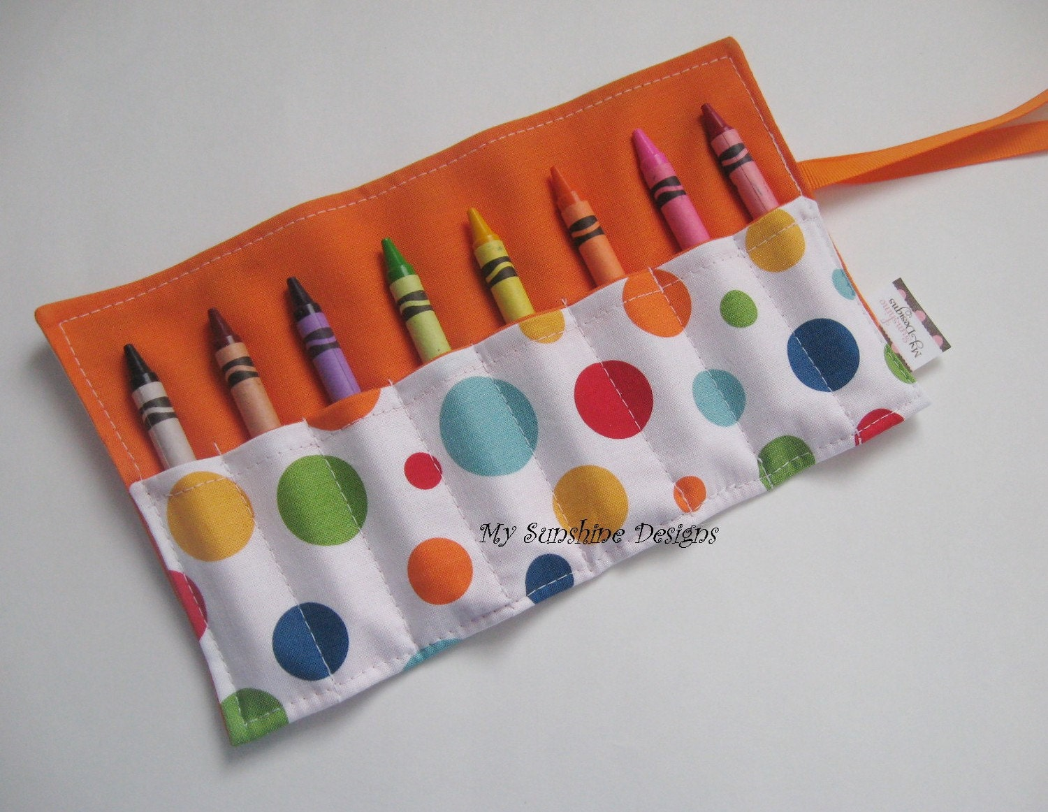 Crayon Roll<br> Lolli Dot