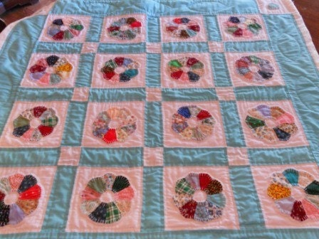 Sewing & Quilt Gallery: Dresden Plates (the pattern & the plans)