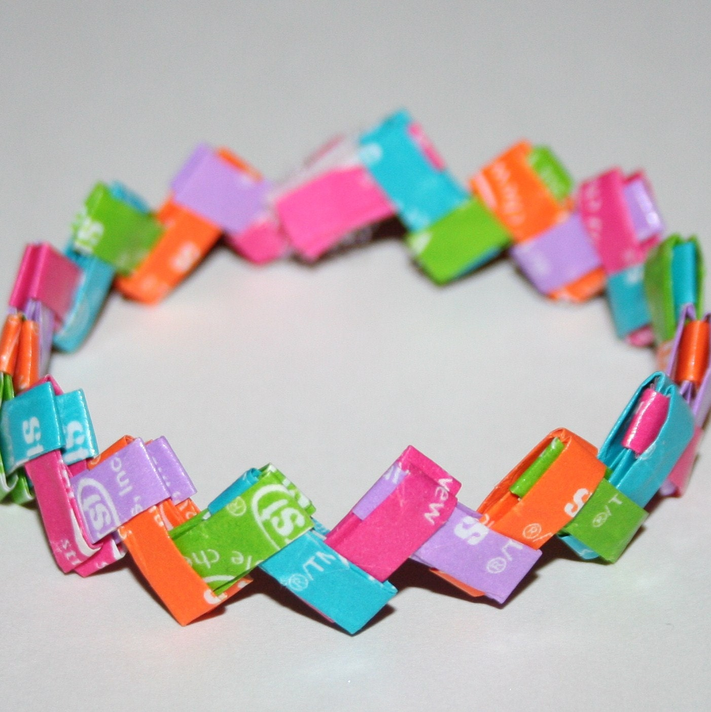 tropical starburst bracelet by eclectickel on etsy