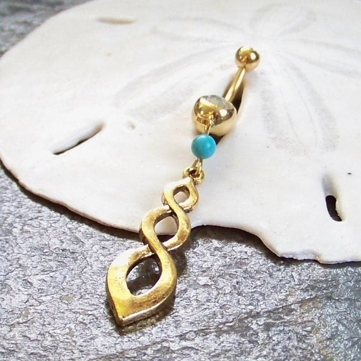 Infinity Symbol Belly Button Ring  BodyCandy