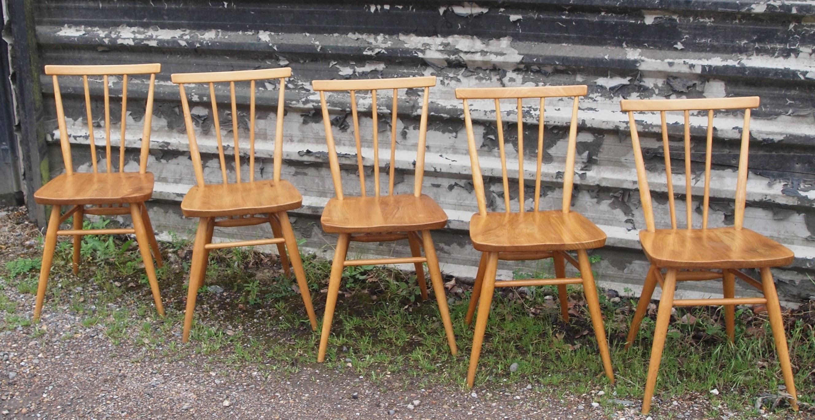 5 Ercol 391 All Purpose Chairs